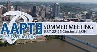 AAPT Summer Meeting 2017