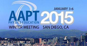 AAPT Winter Meeting 2015