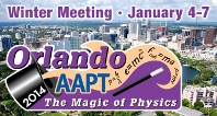 AAPT Winter Meeting 2014